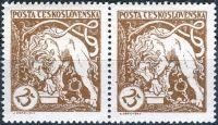 (1919) č. 28 A ** - Československo - 2-bl - Legionářské - 1. výročí vzniku ČSSR