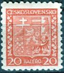 (1929) č. 250x ** - Československo - Státní znak