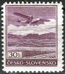 (1930) č. L15 ** - Československo - Letadlo nad krajinou