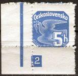 (1937) č. NV15 ** - Československo - Novinové - holubice
