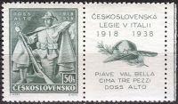 (1938) č. 338 ** - Československo - 20. výročí bojů čs. legií