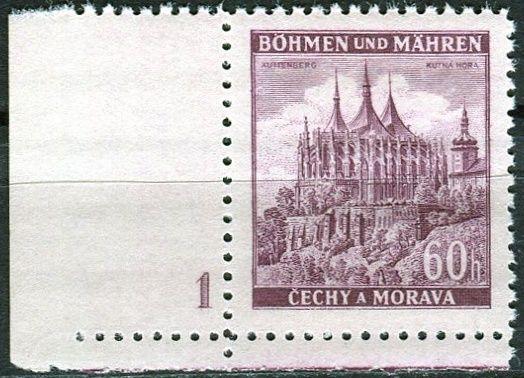 Protektorát Čechy a Morava (1939) č. 30 ** - B.u.M. - Města - Kutná Hora - d.č. 1