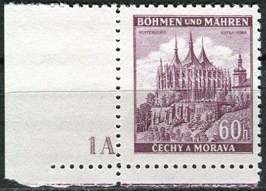 Protektorát Čechy a Morava (1939) č. 30 ** - B.u.M. - Města - Kutná Hora - d.č. 1A