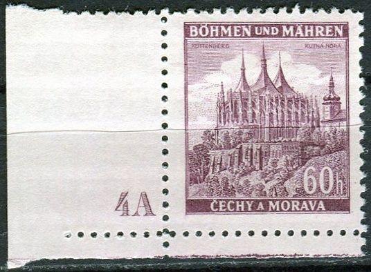 Protektorát Čechy a Morava (1939) č. 30 ** - B.u.M. - Města - Kutná Hora - d.č. 4A