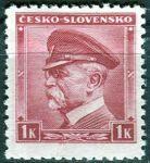 (1939) č. 352 ** - ČSR I. - Portréty - T.G. Masaryk