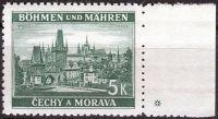 (1939) č. 38 ** - B.u.M. - Krajiny, hrady a města - Praha - Karlův most - d.z.+