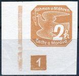 (1939) č. NV 1 ** - (DČ: 1) - B. ü. M. - Novinové známky