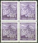 (1941) č. 54 ** - B.u.M. - 4-bl - Lipové listy