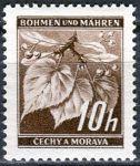 (1939) č. 21 ** B.ü.M. - 2-bl - Lipové listy - DV - 5