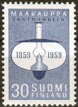 """(1959) MiNr. 514 ** - Finsko - 100. výročí vydání finských """"Landhandels"""""""