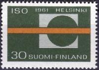 (1961) MiNr. 535 ** - Finsko - Valné shromáždění Mezinárodní organizace pro normalizaci (ISO)