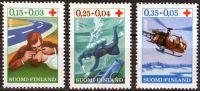 (1966) MiNr. 609 - 611 ** - Finsko - červený kříž