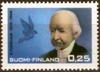 (1968) MiNr. 639 ** - Finsko - 150. narozeniny Zacharias Topelius
