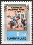 (1970) MiNr. 678 ** - Finsko - 200 let Aurora Club (literární společnosti)