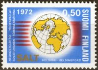 (1972) MiNr. 703 ** - Finsko - 1. smlouva SALT