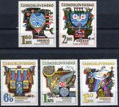 (1974) č. 2077 - 2081 ** - Československo - Mezinárodní hydrologická dekáda