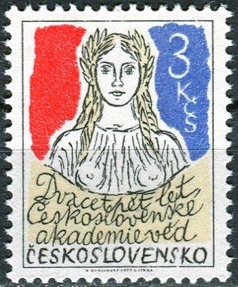 (1977) č. 2283 ** - ČSSR - 25. let Československé akademie věd