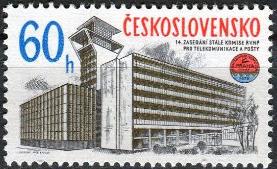 (1978) č. 2315 ** - ČSSR - Komise RVHP pro telekomunik. a pošty