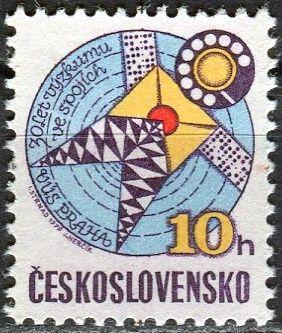 (1979) č. 2375 ** - ČSSR - 30 let výzkumu ve spojích
