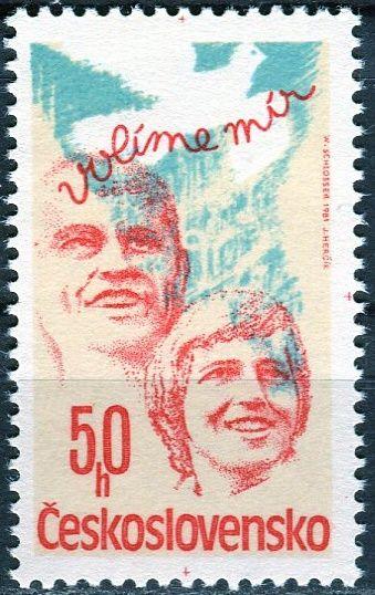 (1981) č. 2490 ** - ČSSR - Volby do zastupitelských orgánů