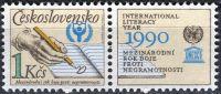 (1990) č. 2921 ** KP - ČSSR - Boje proti negramotnosti