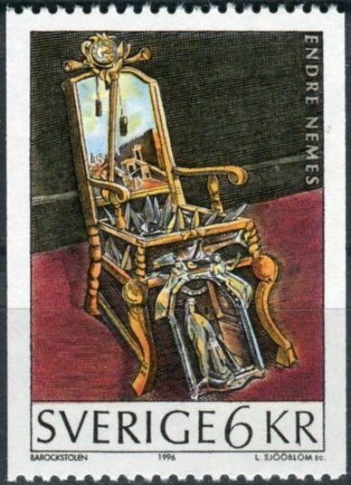 (1996) MiNr. 1968 ** - Švédsko - Obrazy ze sbírek Muzea moderního umění ve Stockholmu