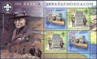 (2007) MiNr. 5186 - 5187 ** - Ungarn - BLOCK 313 - Europa - Pfadfinder