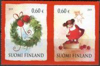 (2009) MiNr. 1997 - 1998 ** - Finsko - Vánoce