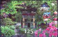 Zobrazit detail - (2014) MiNr. 1116 **- Chorvatsko - BLOCK 53 - 125 let Botanická zahrada, Záhřeb