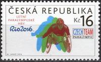 (2016) č. 892 ** - Česká republika - Letní paralympijské hry