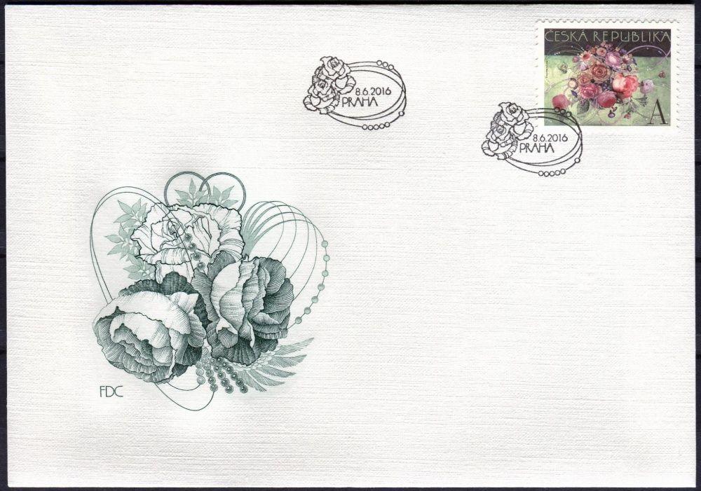 Česká pošta (2016) FDC 889 - Vazba květin