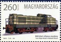 (2016) MiNr. 5844 ** - Maďarsko -50 let lokomotivy řady M40