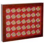 Mincovní vitríny LOUVRE 54 políček