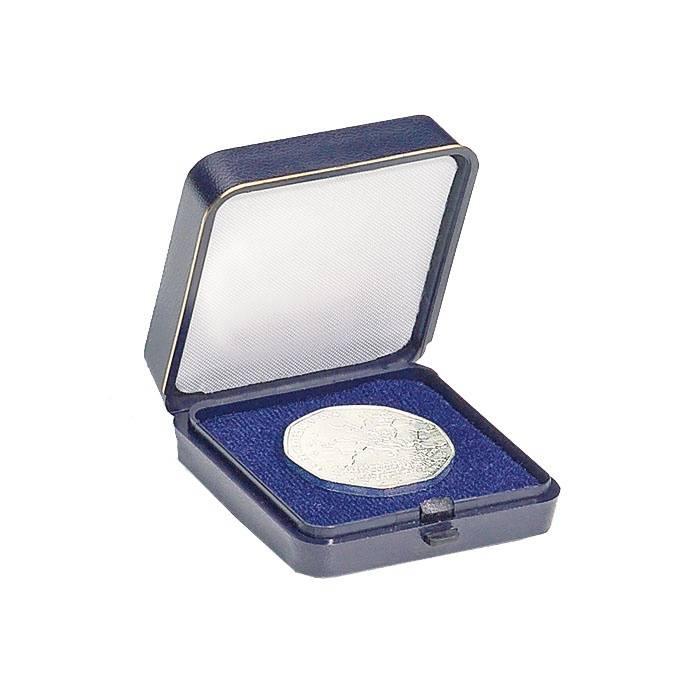 Plastová mincovní etue do 30 mm Ø
