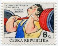 (1993) č. 8 ** - ČR - MS ve vzpírání