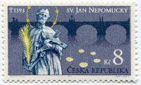 (1993) č. 4 ** - ČR - Svatý Jan Nepomucký