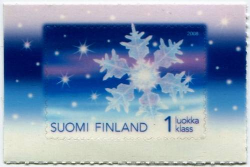 (2008) č. 1940 ** - Finsko - Sněhová vločka