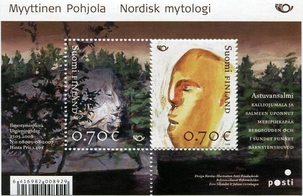(2008) č. 1906 - 1907 ** - Finsko - BLOCK 49 - Severská mytologie