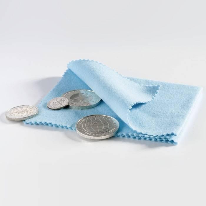 Leštící hadřík na mince