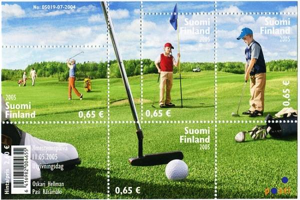 (2005) č. 1755 - 1758 ** - Finsko - BLOCK 36 - Golf