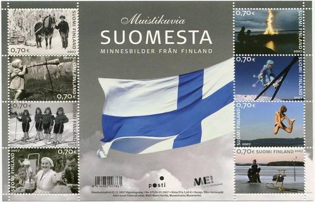 (2007) č. 1870 - 1877 ** - Finsko - PL - Vzpomínky