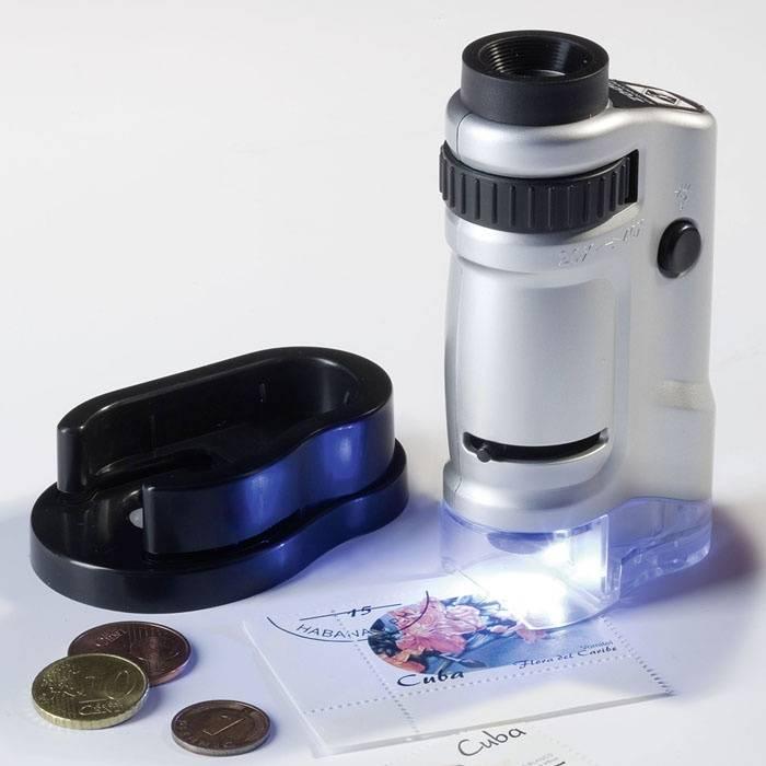 Zoom mikroskop s osvětlením LED 20-40x