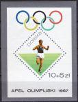 (1967) MiNr.  ** - Polsko - BLOCK 40 - 1932 olympijské hry v Los Angeles