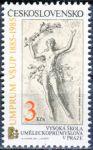 (1985) č. 2683 ** - Československo - 100 let Vysoké školy umělecko - průmyslové