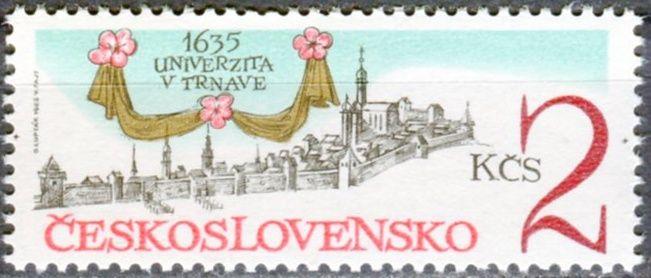 (1985) č. 2684 ** - ČSSR - 350. výročí založení university v Trnavě