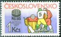 (1985) č. 2693 ** - Československo - MS a ME v ledním hokeji 1985 v Praze