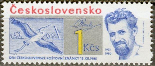 (1985) č. 2729 ** - ČSSR - Den čs. poštovní známky 1985