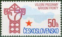 (1986) č. 2740 ** - Československo - Volební program Národní fronty