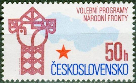 (1986) č. 2740 ** - ČSSR - Volební program Národní fronty