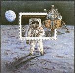 (1989) MiNr. 3206A ** - Polsko - BLOCK 109A - 20. výročí prvního pilotovaného přistání na Měsíci